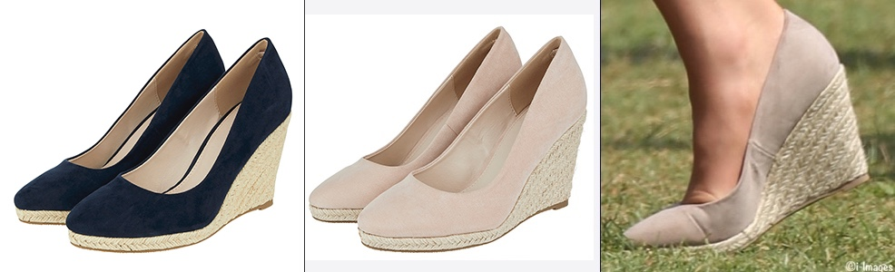 1a809a52d5db ... same shoe being suggested as a possible stand-in for the Corkswoon  (left) and also for the Monsoon Fleur (right)  it s the Eva Espadrille Wedge  ( 85) ...