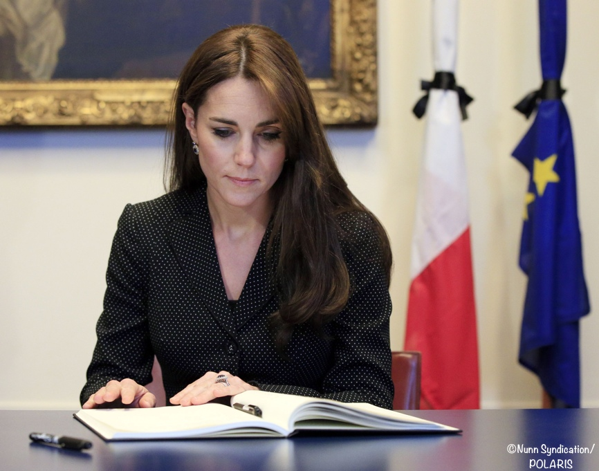 Kate French Embassy Condolence Book