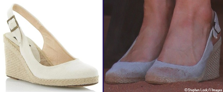 Kate Dune London Imperia Shoe and Dusty Feet Wearing It i-Images