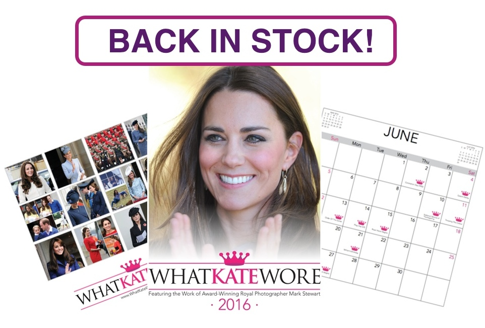2016 Calendar Back in Stock Montage Trimmed