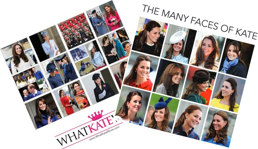 2016 WKW Kate Calendar Back Cover and Faces of Kate Two Shot Updated