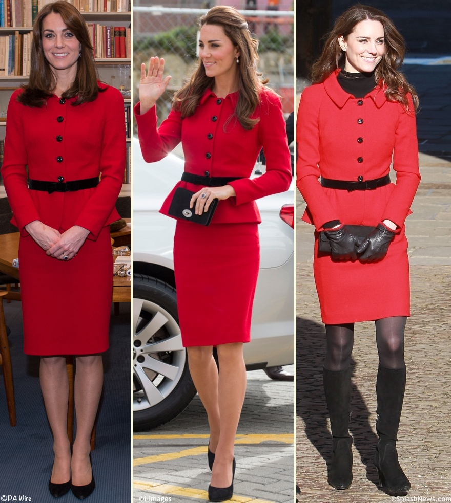 It s Luisa Spagnoli for Pre-Christmas Luncheon   A New Honor for the  Duchess - What Kate Wore 08436a3c1f3