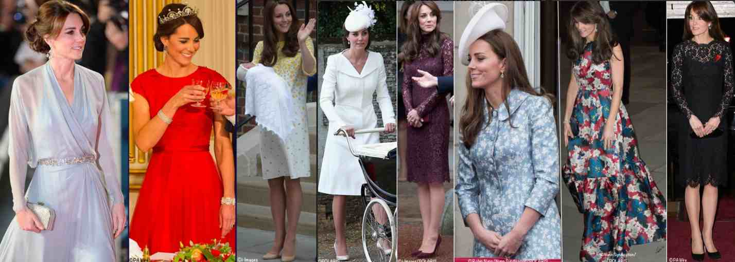 Kate 2015 Special Occasion dress Poll all 8 Pix
