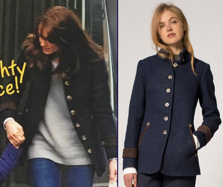 Kate Woman's Day Australia Katherine Hooker Hendre Jacket Comparison Side by Side
