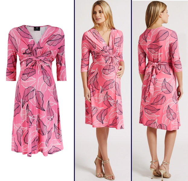 0db2ba9daa4e6 Madderson London Spring 2016 Annabel Maternity Pink - What Kate Wore