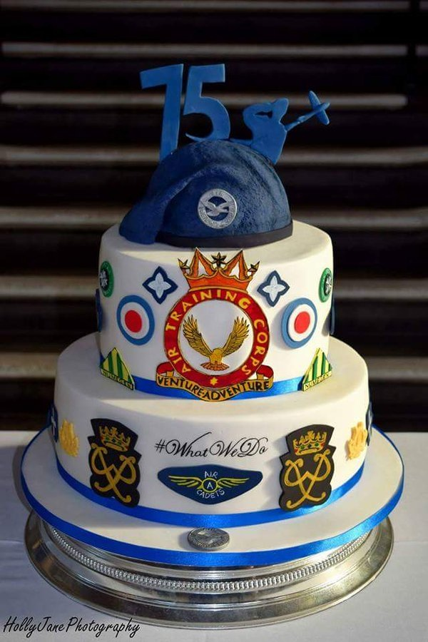 75th Anniversary Air Cadets Cake By Heather Via Heather J Twitter