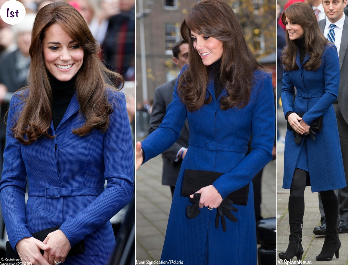 Kate Favorite New Coat worn in 2015 Poll Christopher Kane Winner Montage Photogs as Labeled Feb 1 2016