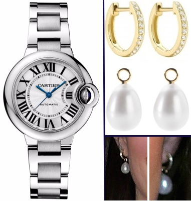 Kate Jewelry Montage Feb 17 2016 HuffPo Young Minds Annoushka Pearls Kiki Hoop[s Cartier Ballon Bleu