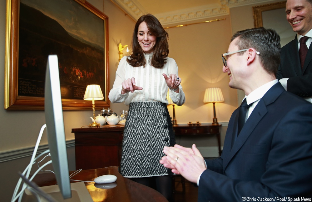 The Duchess of Cambridge guest edits The Huffington Post UK