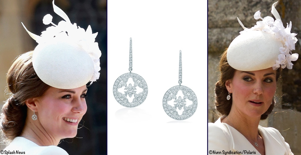 2015 Jewelry Poll Kate Mappin Webb Empress Earrings July 5 2015 Charlotte Christening Montage March 4 2016