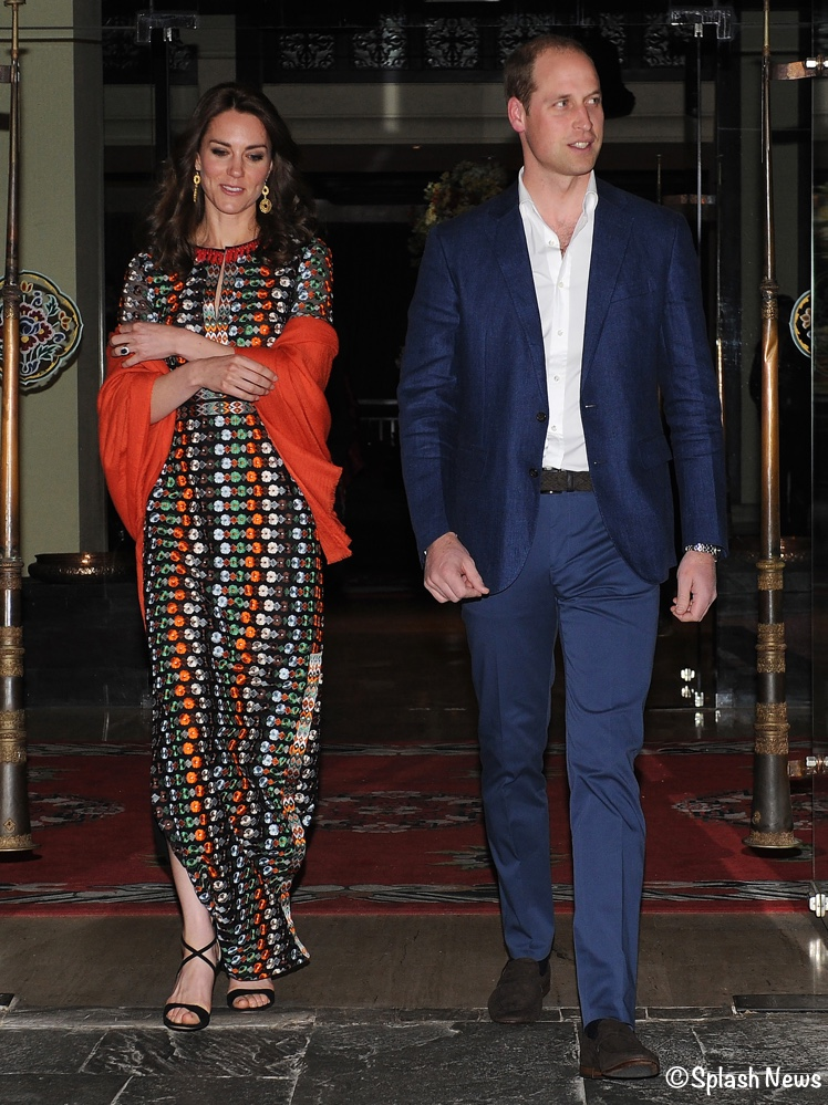 Take Two for Tory as Kate Wears Designer\'s Gown for Dinner - What ...