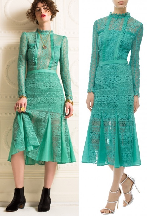 Temperley Desdemona Dress With Without modesty panel