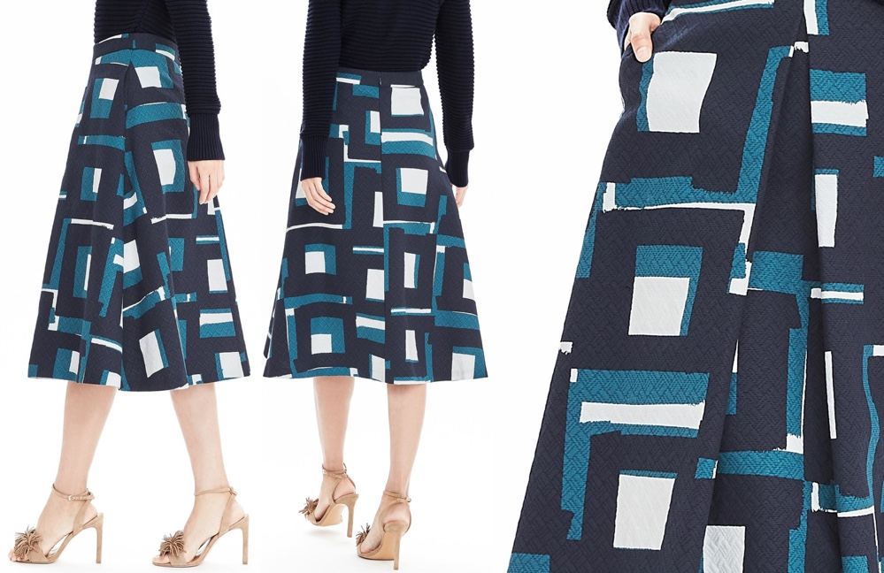 Kate Heads Together Launch May 16 2016 Banana Republic Geo Jacquard Skirt Product Shots 999 x 650
