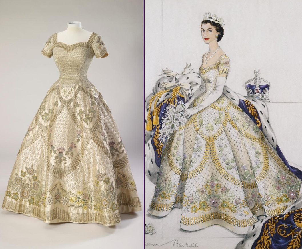 An Addition to Kate's Calendar & Those Weekend Retail ...Queen Elizabeth Coronation Dress