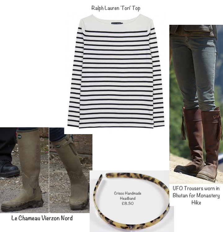 Kate Houghton Hall Horse Trials Ralph Lauren Tori Grey Gray Jeans Le Chameau Headband Montage Updated May 31 2016