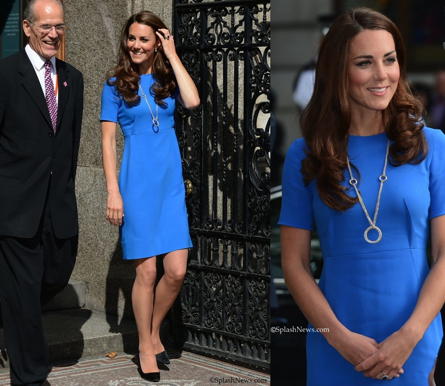 Kate Middleton Cartier Trinity necklace