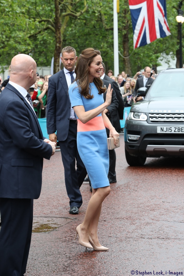 Kate Middleton Patron's Lunch June 2016 Roksanda Ilincic Dress