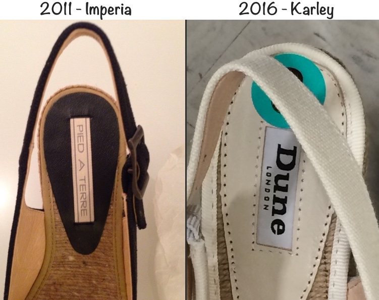 Imperia vs Karley TTwo Shot Company Label instep sole July 15 2016