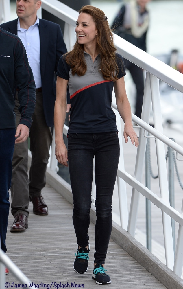 6c981247ce3 Kate is Casual for America's Cup Races - What Kate Wore