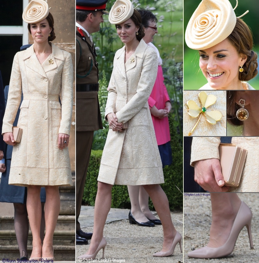 Kate Busy June Week N Ireland Garden Party Ensemble Poll July 7 2916