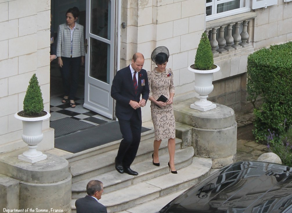 Kate William Somme 100 Leaving Prefecture on Way to Thiepval July 1 2016