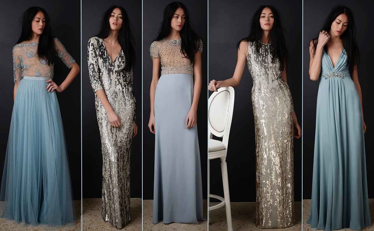 Canada Tour Updates Jenny Packham Pre Fall Collection 2016 5 Gowns 3 Pale Blue 2 Goldish Silvery August 10