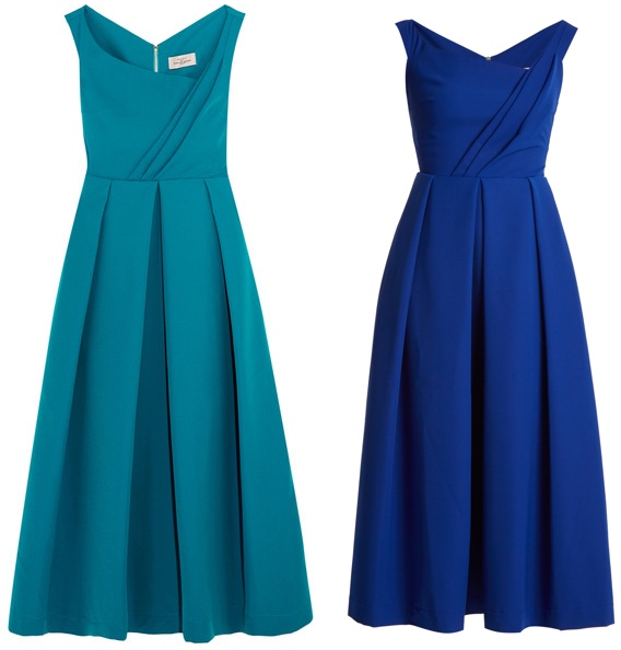 Kate's Preen Finella Dress Electric Blue Teal