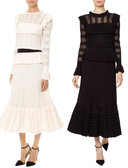 Temperley London Cypre Dress Almond Black June 23 2017