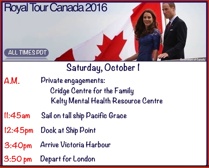 canada-day-7-schedule-event-times-timing-itinerary-agenda-engagements-october-1