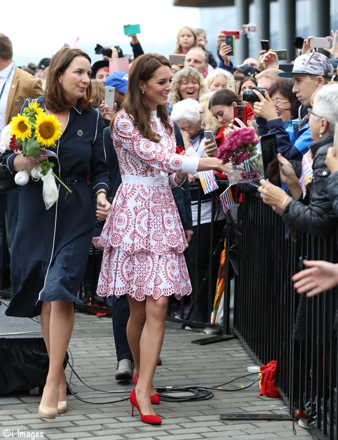 Kate Middleton McQueen Vancouver