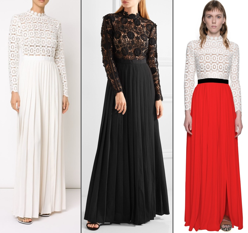Kate In Self Portrait Lace Dress For Film Festival amp Movie