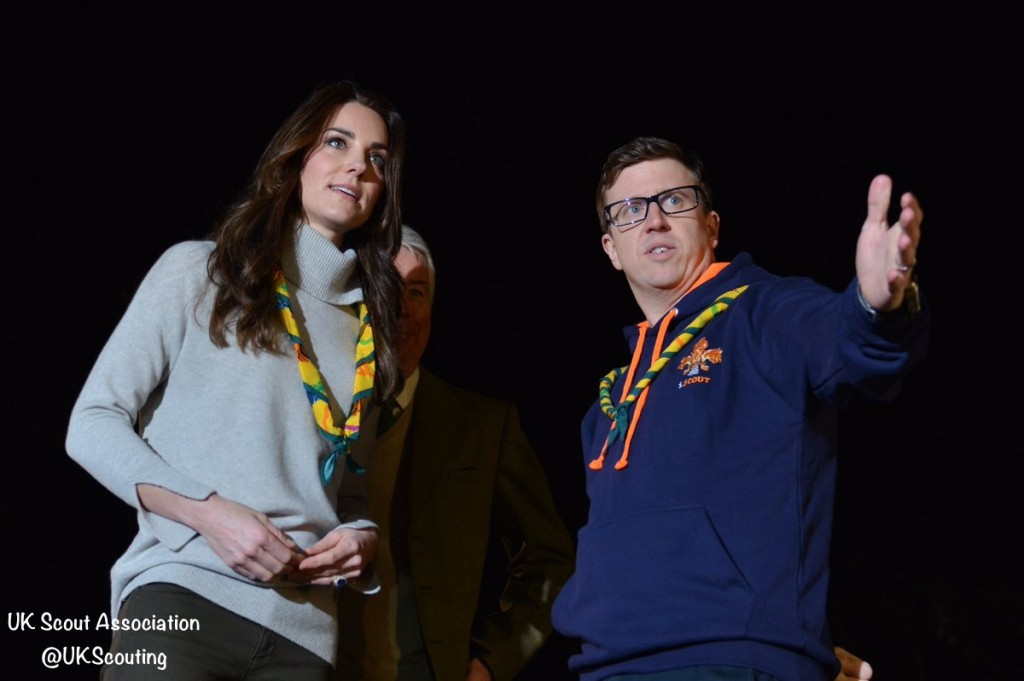 Duchess Cambridge King's Lynn Cub Scouts
