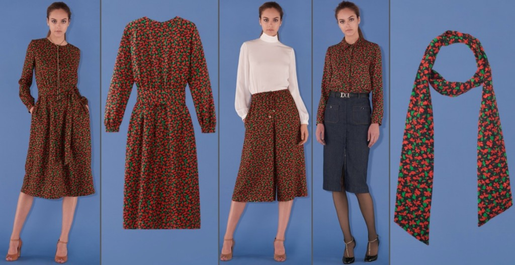 Kate Middleton Duchess Cambridge Heads Together Vanessa Seward Holly print dress