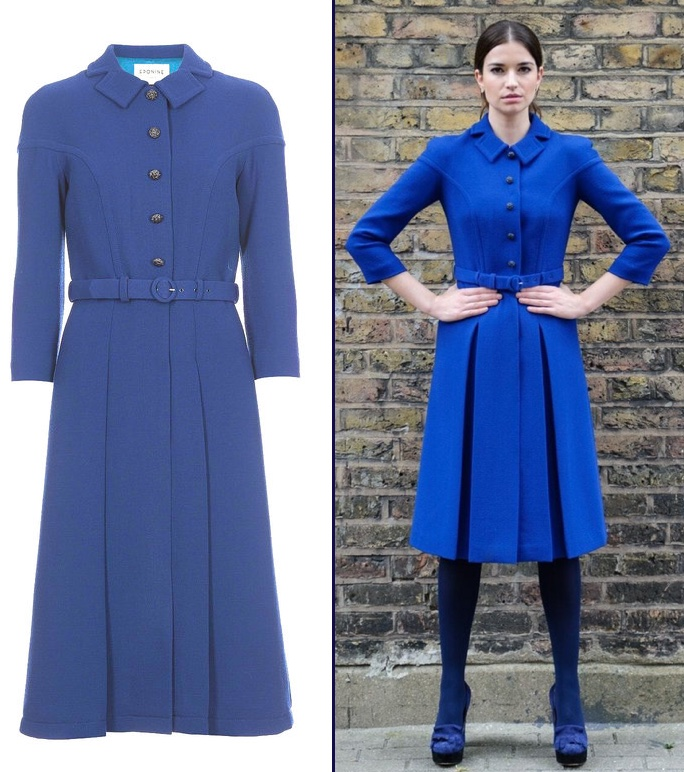 It's A New Eponine London Coatdress for Kate's London Engagements ...