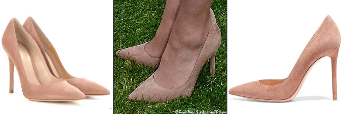 88b0e223100 A Move Back to London for the Cambridge Family   Vote for Your Favorite New  Pair of Kate s Shoes » Gianvito Rossi Praline Suede Pumps Garden Party Poll