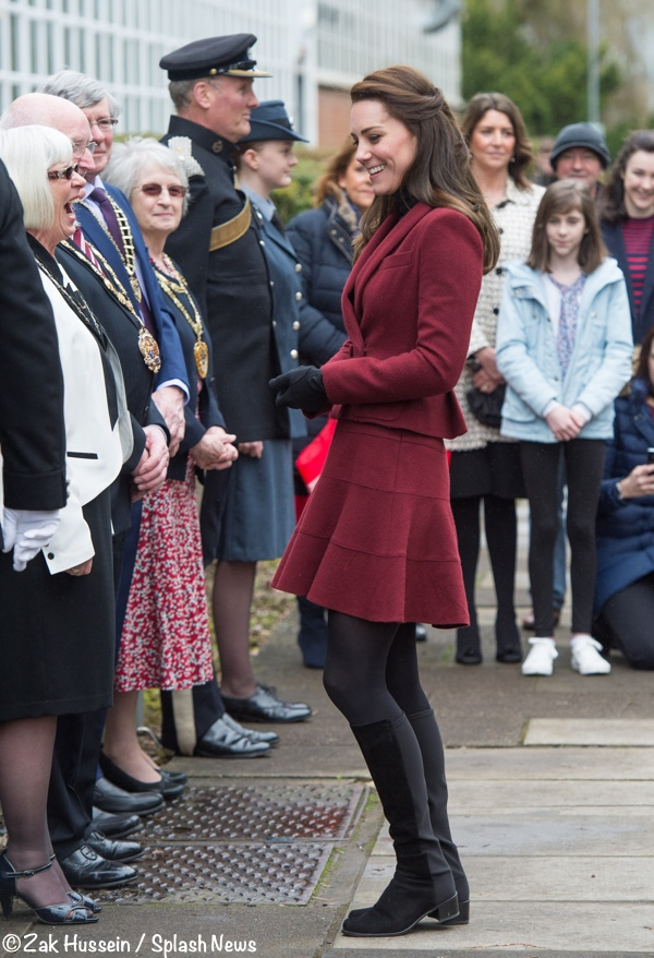 cf970f0852a5c The Duchess in a Royal Repeat for Wales Engagements - What Kate Wore