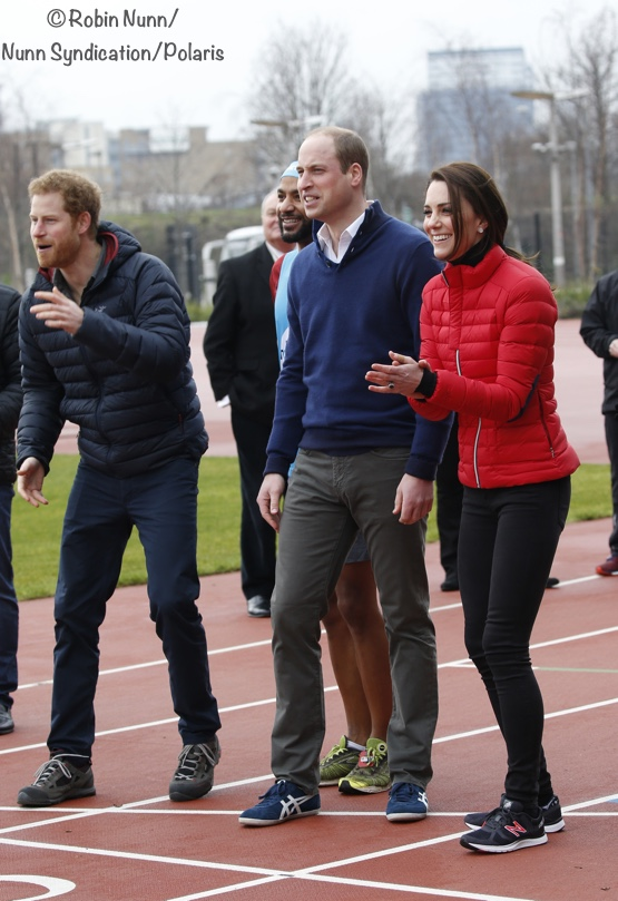 It's a 'Perfect Moment' for Kate at Heads Together Marathon