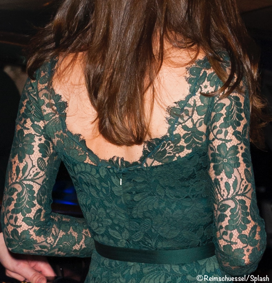 Kate Green Lace Temperley London Gown NPG Portrait Gallery Gala March 28 2017