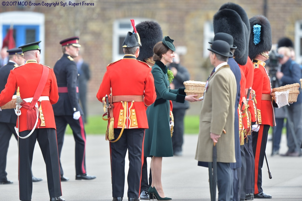 Duchess Cambridge St Patrick's Day 2017 photo