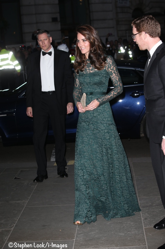 Kate Middleton lace gown