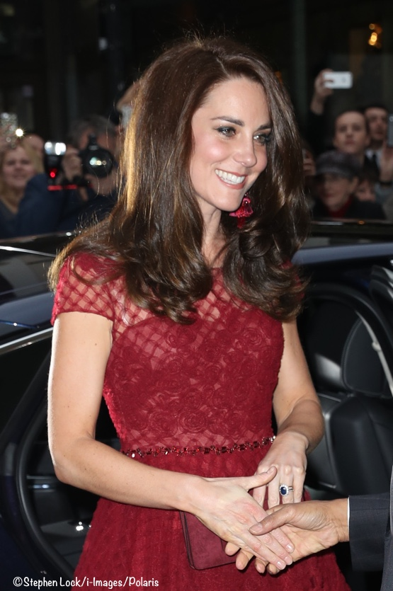 5d41aad4 Kate at Theatre Royal Drury Lane - What Kate Wore