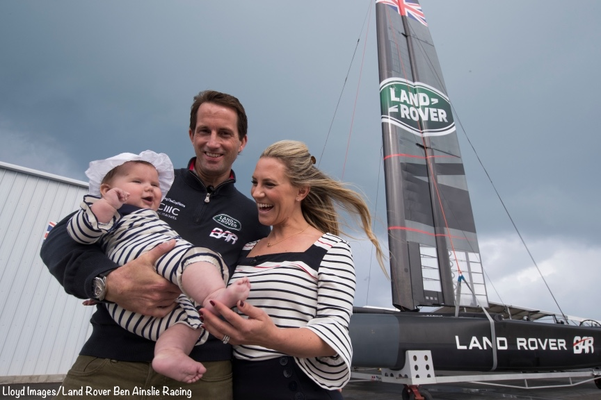 ©LLoyd Images / Land Rover Ben Ainslie Racing