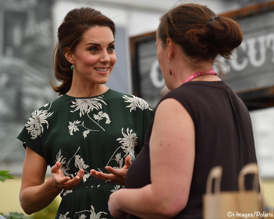 Duchess of Cambridge visits Chelsea Flower Show