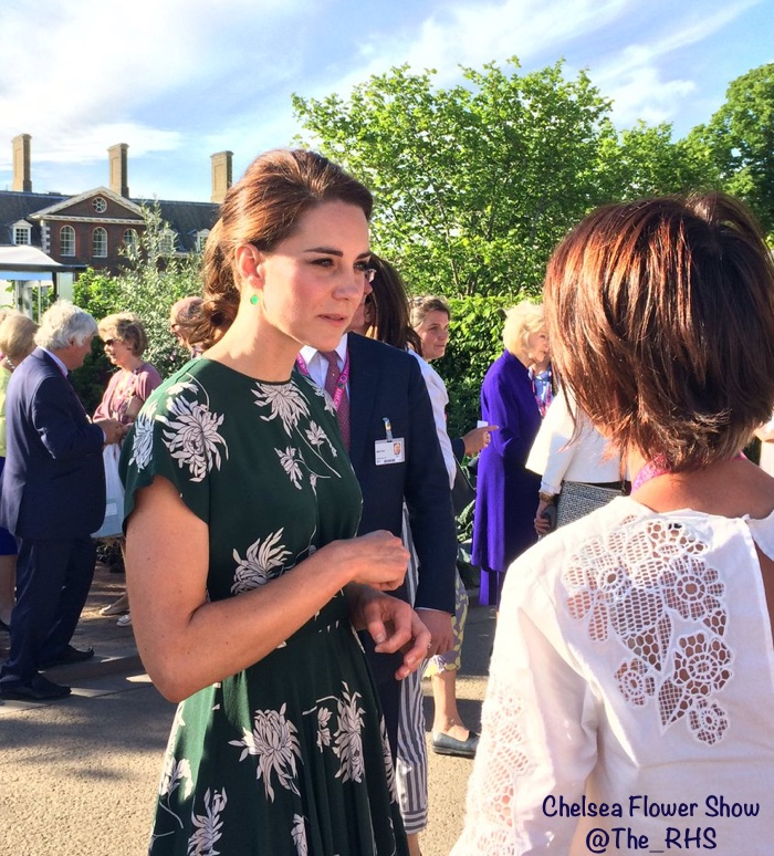 The Royal Horticultural Society Kate Middleton Rochas