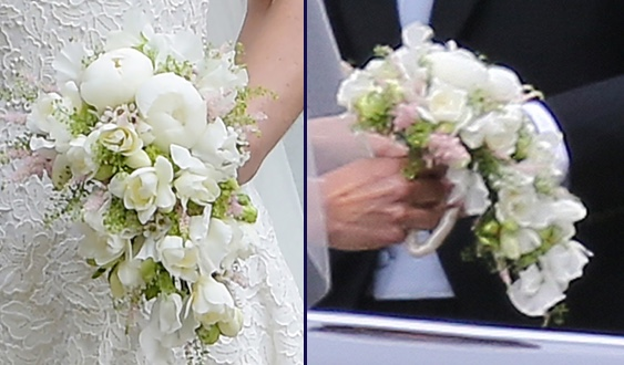 Pippa Wedding Bouquet Two 2 Shots What Kate Wore