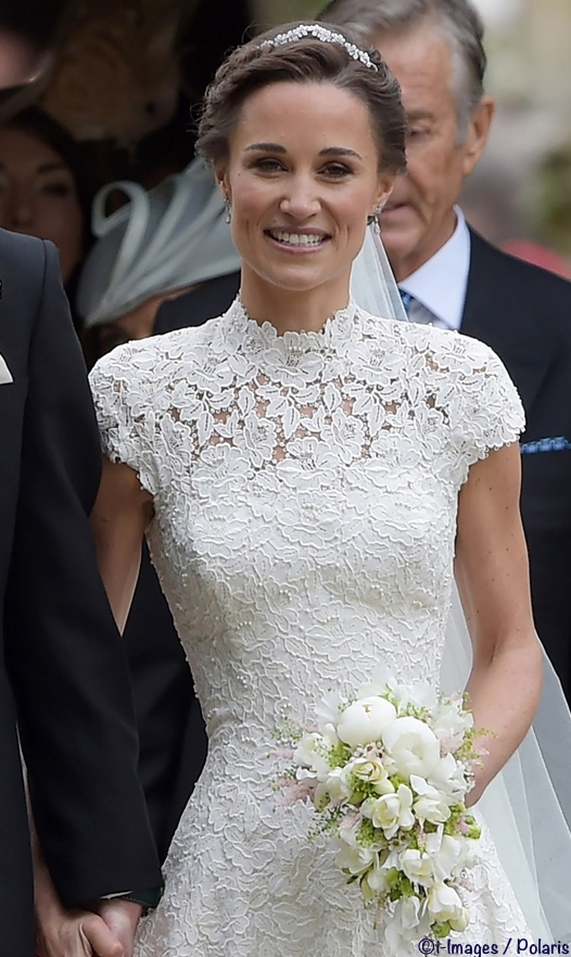 95625cf6d0f Pippa Middleton was Radiant   The Duchess Wore McQueen - What Kate Wore