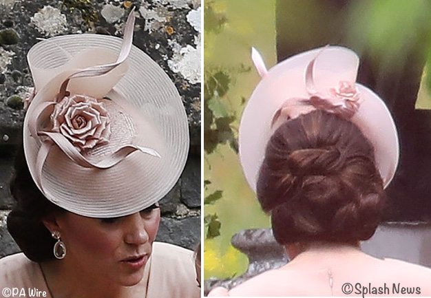Pippa Middleton Was Radiant Amp The Duchess Wore Mcqueen