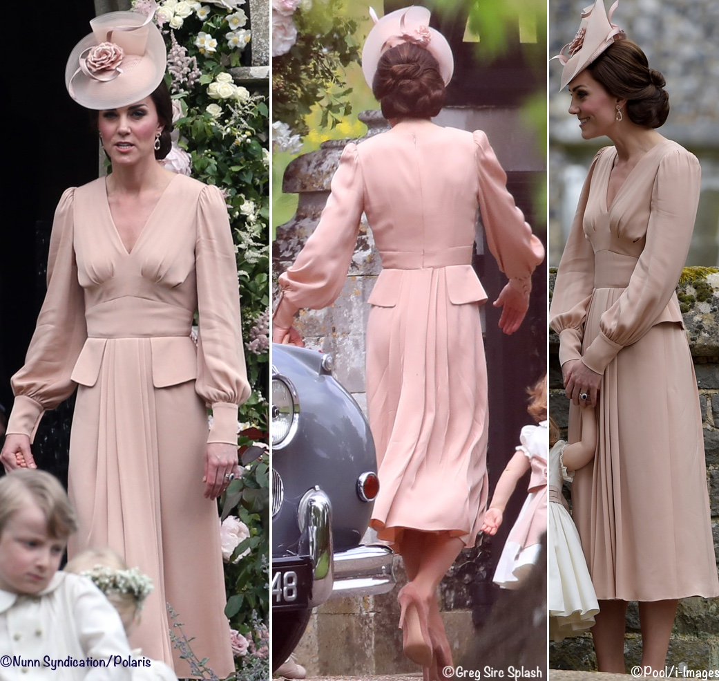 Pippa Middleton was Radiant & The Duchess Wore McQueen - What Kate Wore
