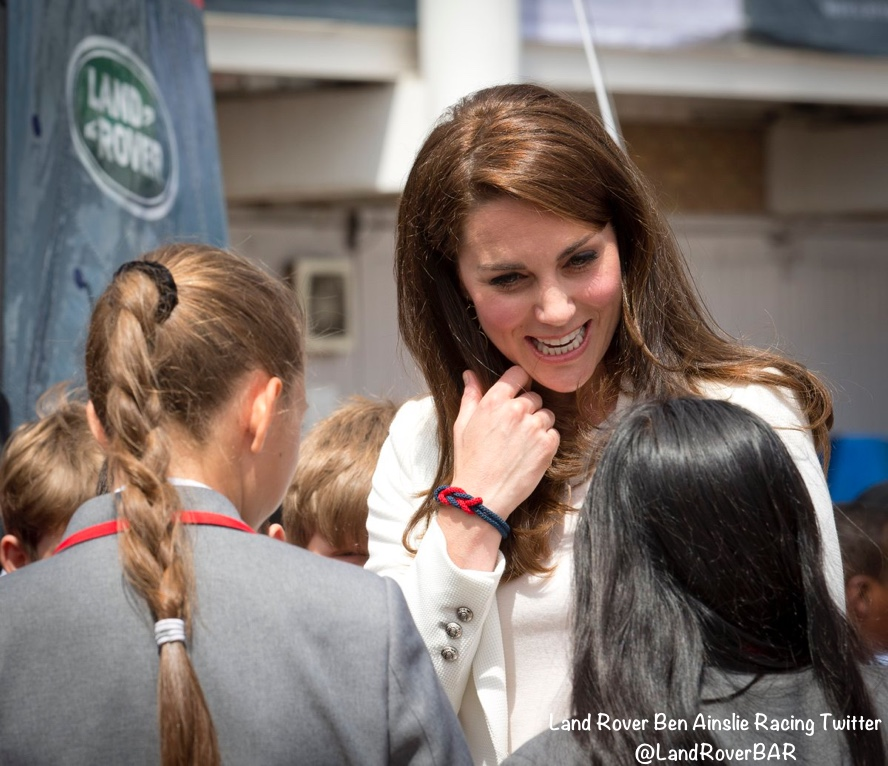 Kate Middleton Duchess Cambridge 1851 Trust bracelet students