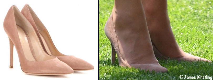 Kate Middleton Ascot June 20 2017 Gianvito Rossi Praline Pumps